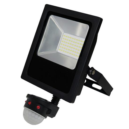 Lfl C30 Cs Commercial 30w 5000k Led Sensor Flood Light
