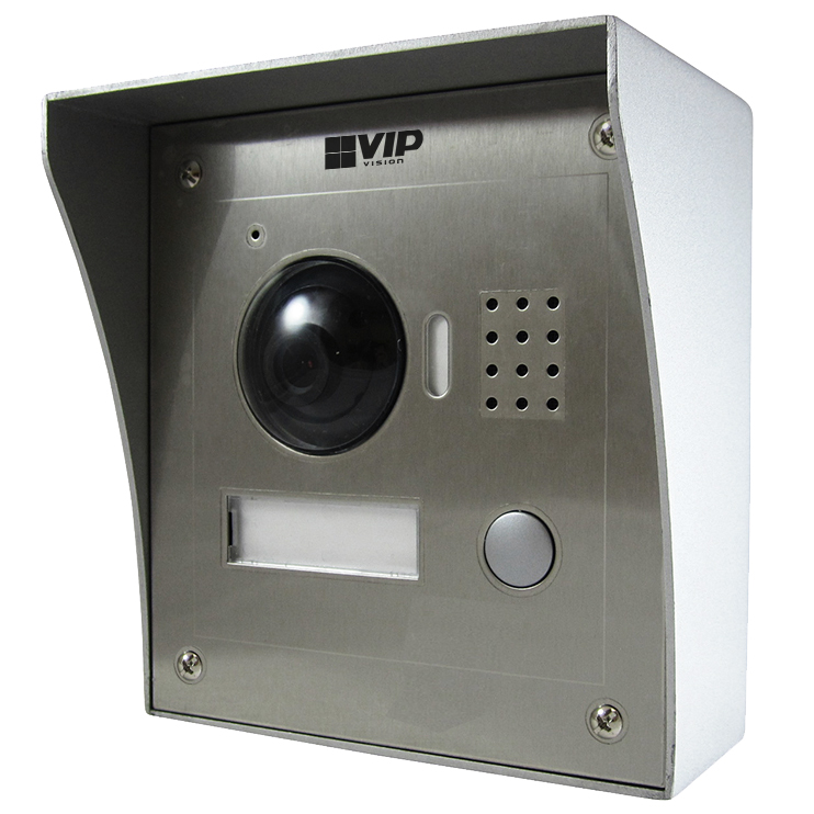 Front Door Intercoms: INTIPRDSVW: Residential Stainless Steel IP Intercom Door