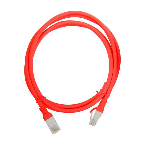 netcable025red6 cat6 ethernet cable patch lead red. Black Bedroom Furniture Sets. Home Design Ideas