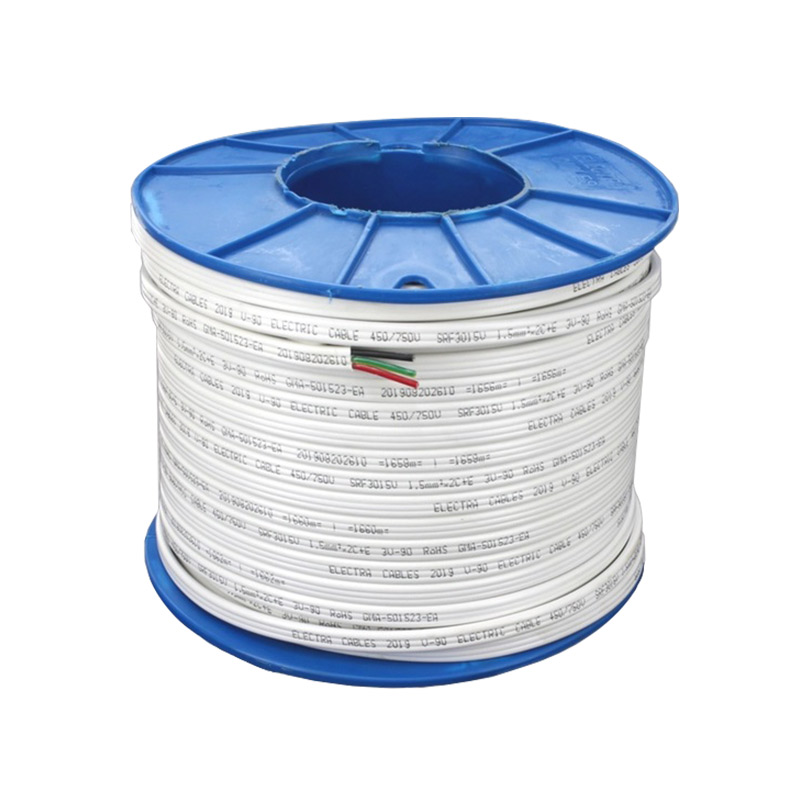 1.5mm² Twin & Earth Flat TPS Cable (100m Drum)TPS-15TE100
