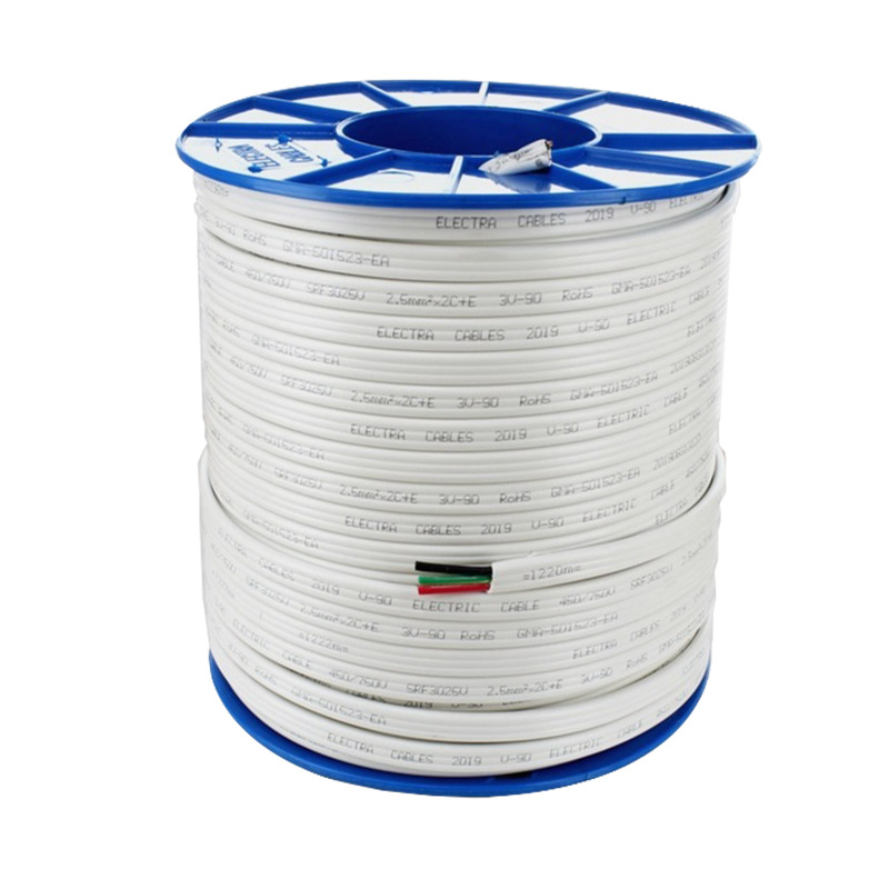 2.5mm² Twin & Earth Flat TPS Cable (100m Drum)TPS-25TE100