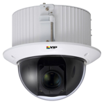Professional Series 2.0MP IK10 IP Mini PTZ Dome (Recessed Mount)