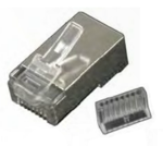 Two Piece Shielded CAT5e RJ45 Connector (10 pack)