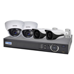 4 Channel 1080p HDCVI Analogue Surveillance Upgrade Kit (2 Domes, 2 Bullets)