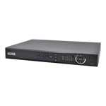 Compact 16 Channel Network Video Recorder with PoE (200Mbps)