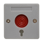Hardwired Panic Button Switch with Key
