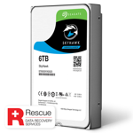 6TB SkyHawk Surveillance Hard Disk Drive with Rescue Service