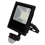 Commercial 30W 5000K LED Sensor Flood Light
