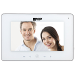 Residential IP Intercom Monitor with WiFi (White)