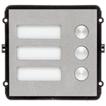 3 Button Multi-Tenant Intercom Module