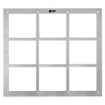 Flush Mount Box & Front Panel - 9 Modules