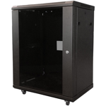15RU 450mm Deep Free Stand Data Cabinet