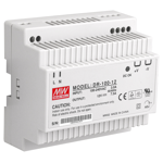 12VDC 7.5A Single Output Industrial DIN Rail Power Supply