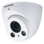 Professional Series 4.0MP WDR Motorised HDCVI Dome