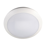 16W LED Intelligent Oyster Light with Backup Battery (5000K)