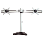 2-Monitor Pole Desk Mount Bracket