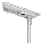 8W PIR Sensor Solar LED Street Light