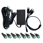 Power Supply Accessory Kit for 4 Channel HDCVI Kits