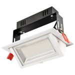 38W Premium Rectangular Adjustable LED Downlight (3000K)