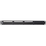 24-Port CAT6 Patch Panel (1U)