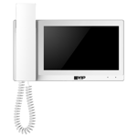 Residential IP Intercom Monitor with Handset (White)