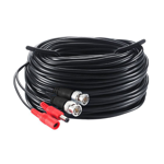30m Pre-terminated Combined Power & 4K BNC Video Lead