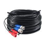 20m Pre-terminated Combined Power & 4K BNC Video Lead