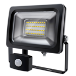 Commercial 20W 6000K LED Sensor Flood Light