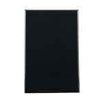 Basix S Series Blank Plate - Black