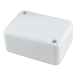 Small Junction Box with Clip on Cover
