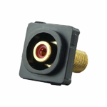 RCA Mechanism Recessed Red ID - Black