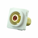 RCA Mechanism Recessed Red ID - White