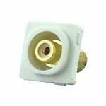 RCA Mechanism Recessed White ID - White