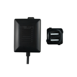 Dual USB Charger Fast Charge - Black