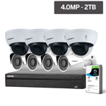 Compact Series 8 Camera 4.0MP IP Surveillance Kit (Fixed, 2TB)