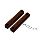 Heavy Duty Hard Wired Reed Switch (Brown)