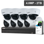 Compact Series 8 Camera 4.0MP IP Surveillance Kit (Fixed, 2TB)
