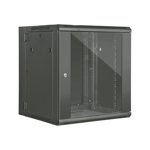 12RU 600mm Deep Wall Mount Swing Data Cabinet