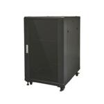 18RU 600mm Deep Wall Mount Swing Data Cabinet