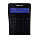 LCD Touch Keypad for WGAP864 Alarm System - Black