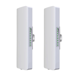 2 x Preconfigured 900Mbps 5.8GHz Wireless Bridge