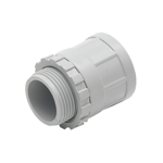 20mm Grey Screw Adapter with Lock Ring