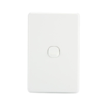 Light Switch 1 Gang - White
