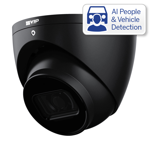 Professional AI Series 6.0MP Fixed Turret (Black)