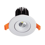 10W Commercial Adjustable Dimmable LED Downlight (6000K)