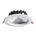 20W Commercial Fixed Dimmable LED Downlight (3000K)