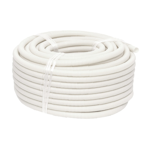 20mm White Medium Duty Corrugated Conduit (50m)