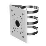 Triple Clamp Pole Mount Camera Bracket (Silver)